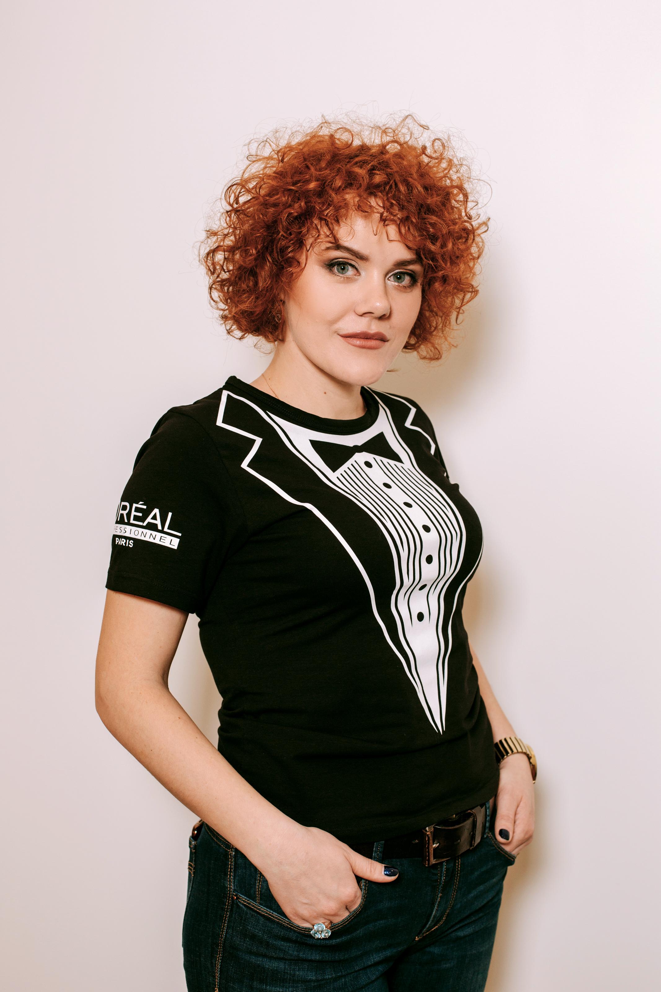 Ольга Ильина, парикмахер -стилист
